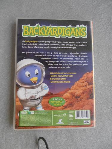 dvd backyardigans- aqui vamos nós - novo original -