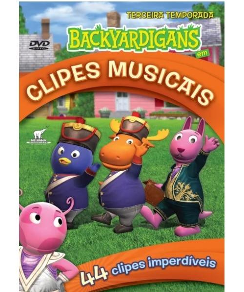 dvd infantil backyardigans clipes musicais