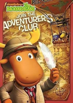 dvd backyardigans -el club de los aventureros-