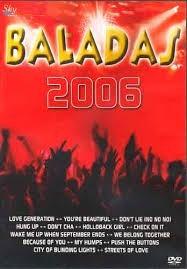 dvd baladas 2006 lacrado original