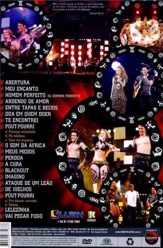 dvd banda calypso ao vivo em angola original
