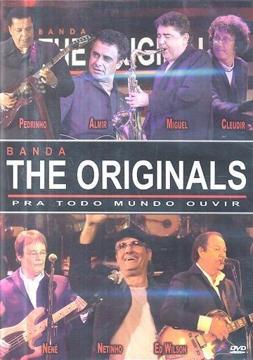 dvd banda the originals pra todo mundo ouvir