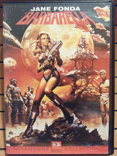 dvd barbarella original jane fonda classico cult barbarela