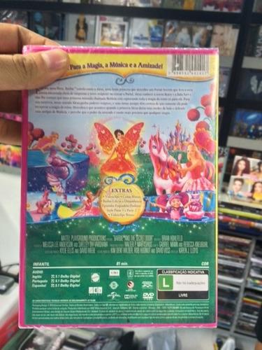 dvd barbie e o portal secreto original lacrado pronta entreg