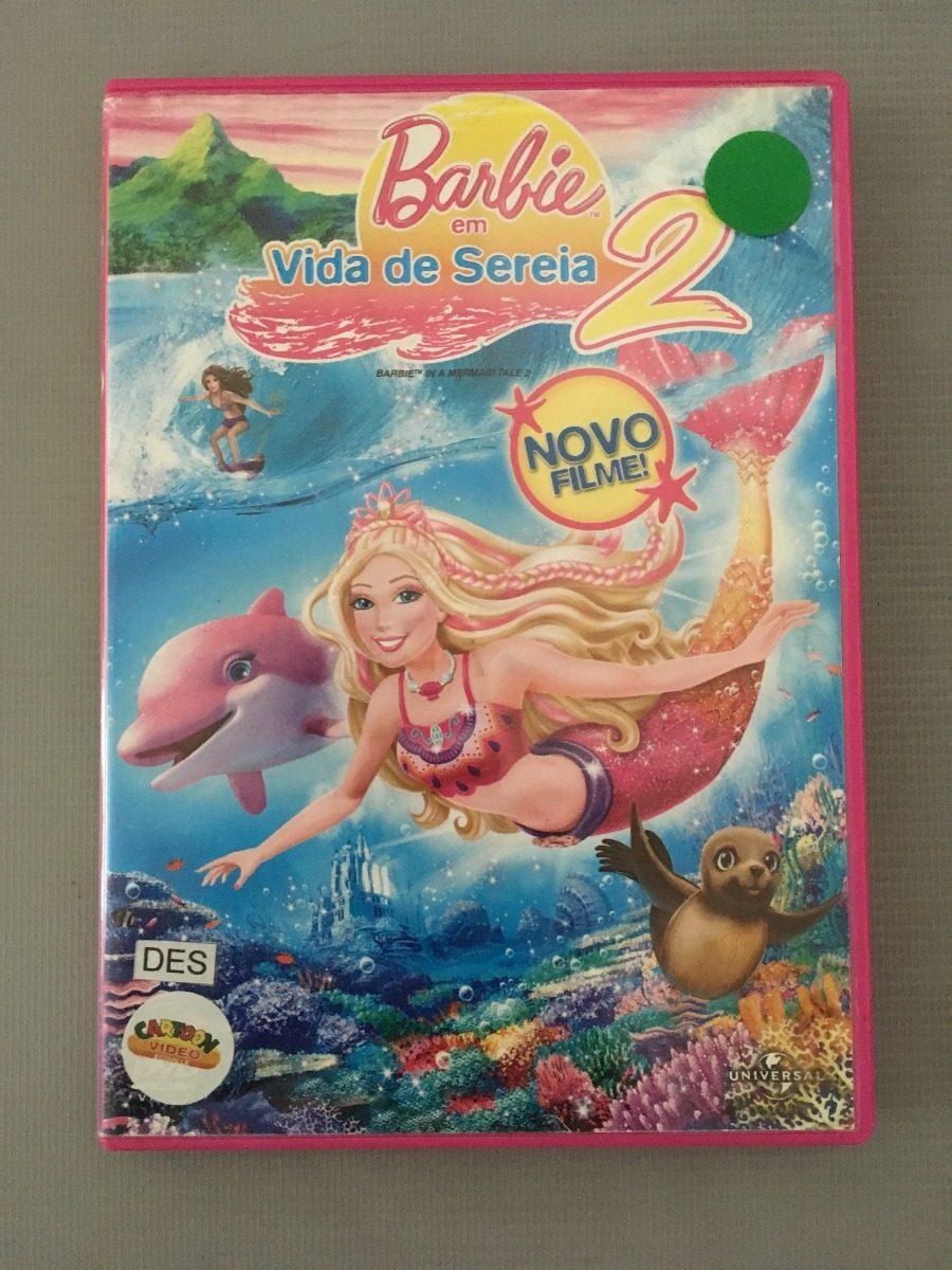 dvd barbie em vida de sereia 2 r 15 47 em mercado livre