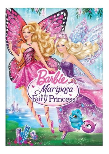 dvd : barbie mariposa & the fairy princess (snap case, s...
