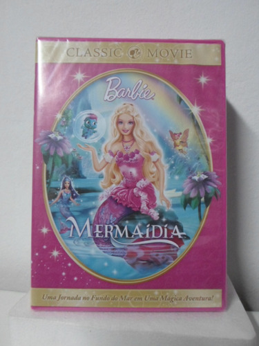 dvd barbie - mermaidia - lacrado - frete: 8,00