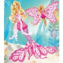dvd barbie sirena - fairytopia mermaidia - dia niño navidad