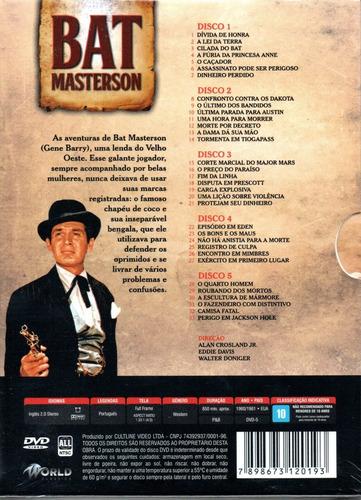 dvd bat masterson 3ª temporada completa - bonellihq l19