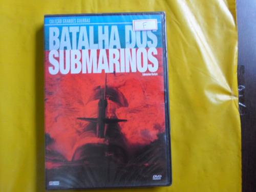 dvd batalha dos submarinos / col. grandes guerras / novo