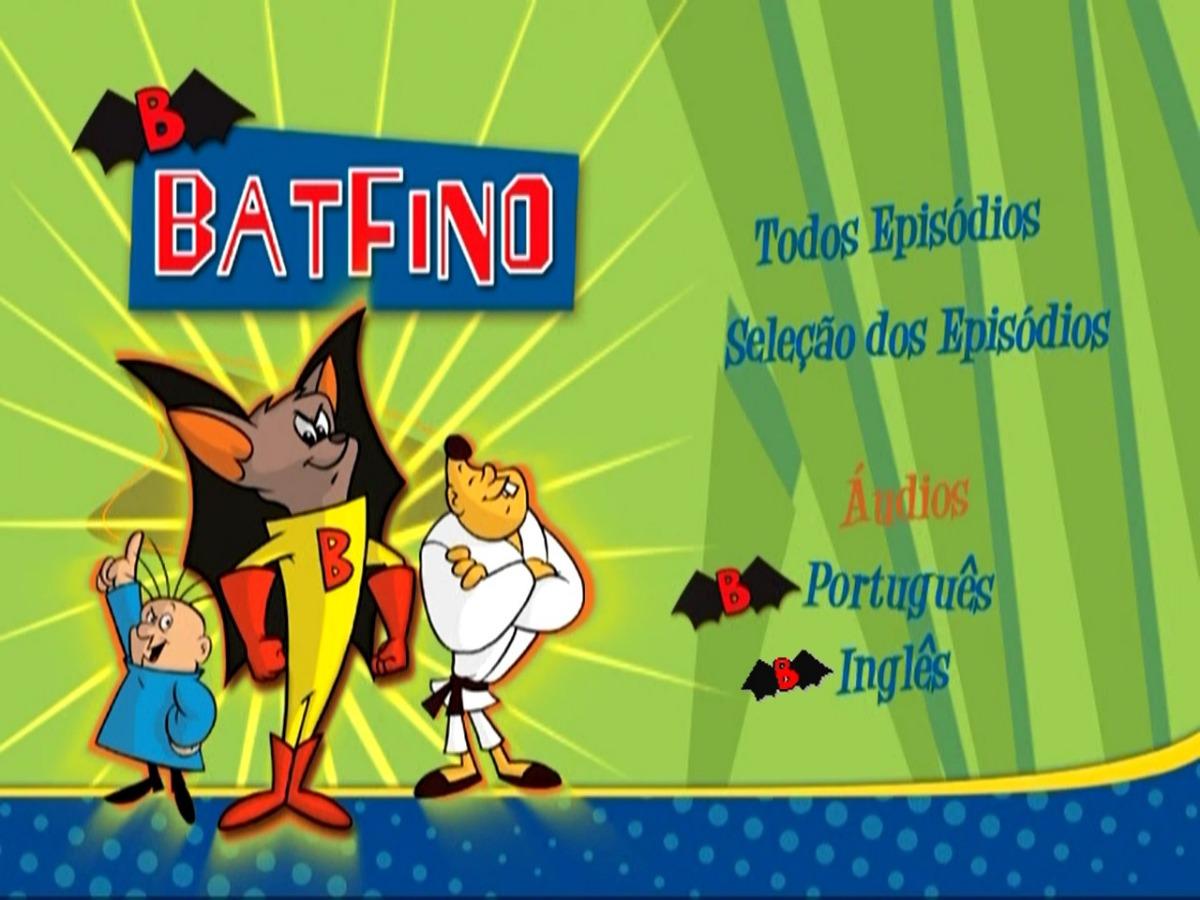 Dvd Batfino Desenho Animado 3 Dvds Frete Gratis R 40 00 Em