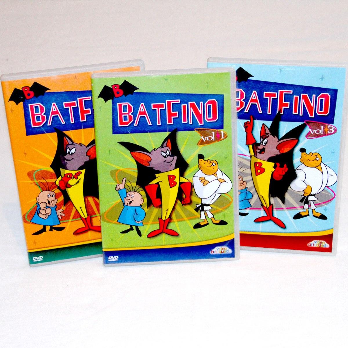 Dvd Batfino Desenho Animado Completa 3 Dvds R 58 00 Em Mercado
