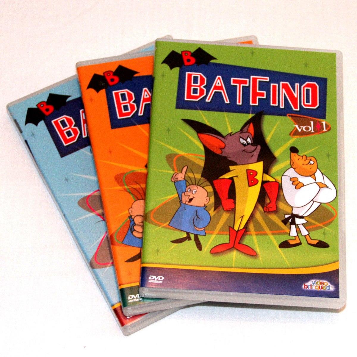 Dvd Batfino Desenho Completa 3 Dvds R 58 00 Em Mercado Livre