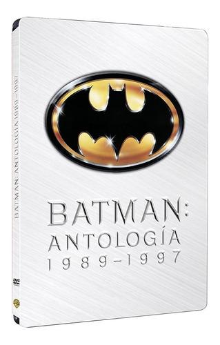 dvd batman antologia steelbook 4 filmes leg português