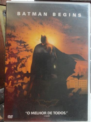 dvd batman begins com christian bale