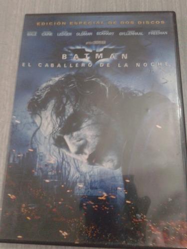 dvd batman-caballero de la noche edicion 2 discos -original