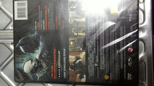 dvd  batman - o cavaleiro das trevas ressurge lacrado