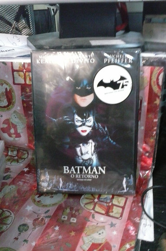 dvd batman o retorno