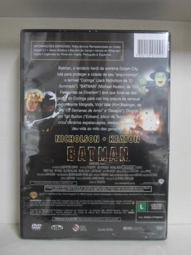 dvd batman - original - frete 8,00