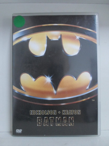 dvd batman - original - seminovo
