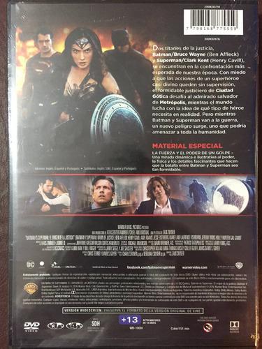 dvd batman vs superman / el origen de la justicia