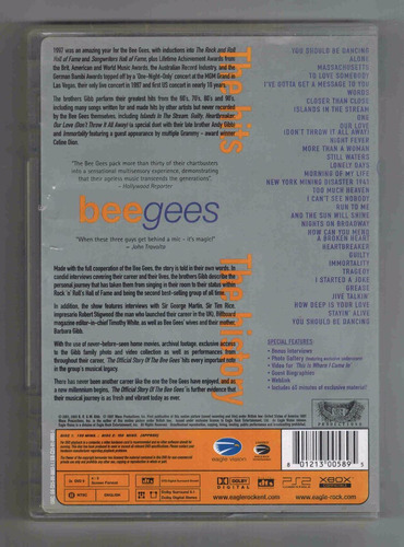 dvd bee gees 2 dvd one night only y the official story of...