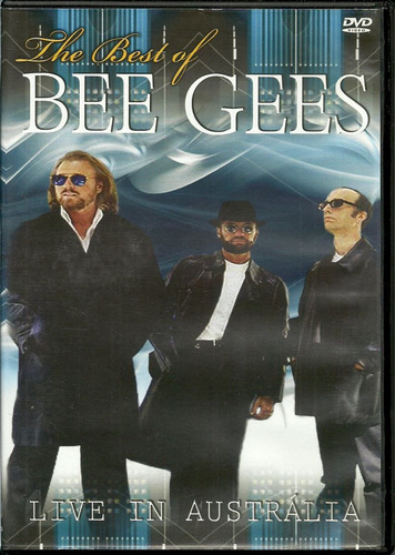 dvd bee gees - the best of bee gees - live in austrália