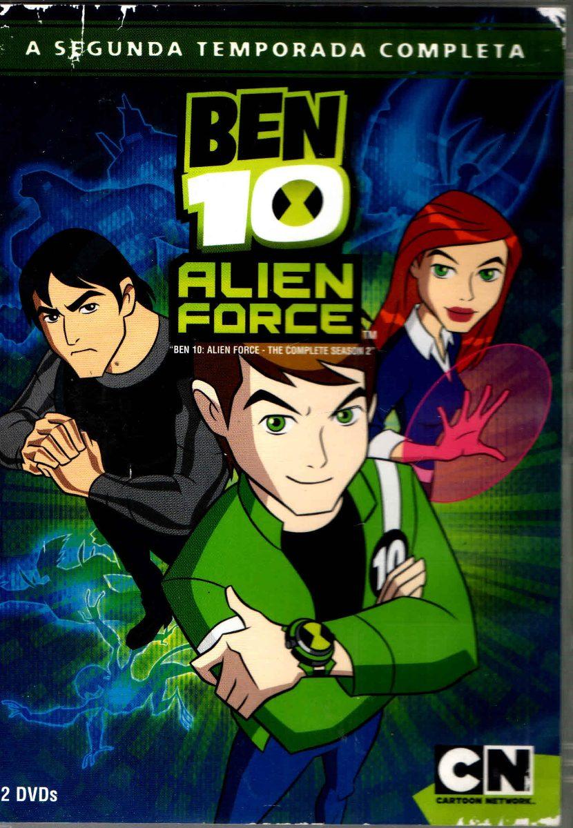 Ben R By Darren Black: Dvd Ben 10 Alien Force 2 Temporada -original -2disco-usado