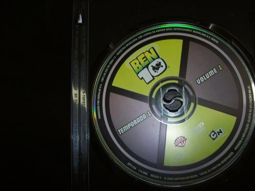 dvd - ben 10 - temporada 1 - volume 1 - nacional - usado