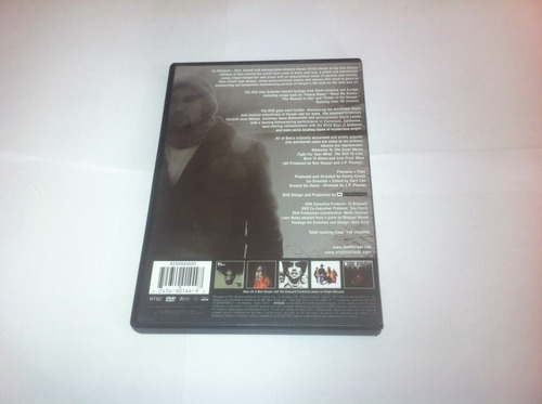 dvd - ben harper - pleasure & pain - 2002 - novo - raro