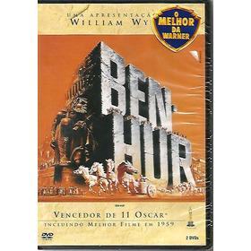 Dvd Ben Hur - Charlton Heston - Duplo - Lacrado