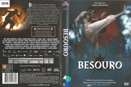dvd - besouro