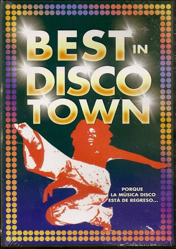 dvd  best in disco town concierto londres tavares chic hm4