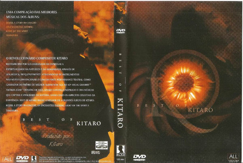 dvd - best of kitaro