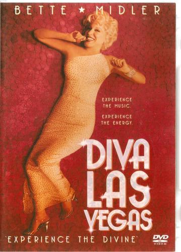 dvd bette midler - divas las vegas - experience the divine -