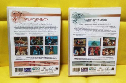 dvd bíblico o velho testamento em 4 volumes