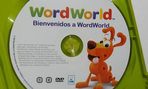 dvd bienvenidos a wordwolrd
