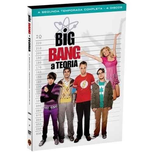 dvd - big bang: a teoria- 2ª temporada completa