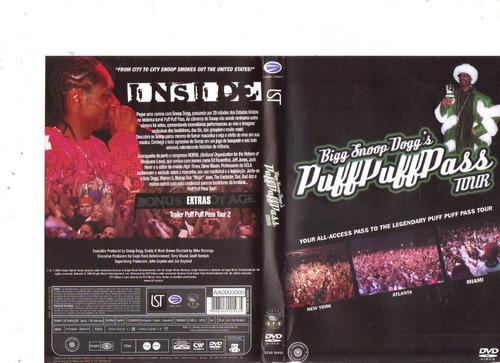 dvd bigg snoop dogg's - puff puff pass tour, original