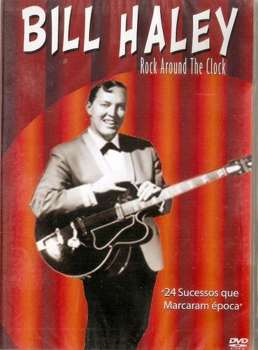 dvd bill haley  - rock around the clock - novo***