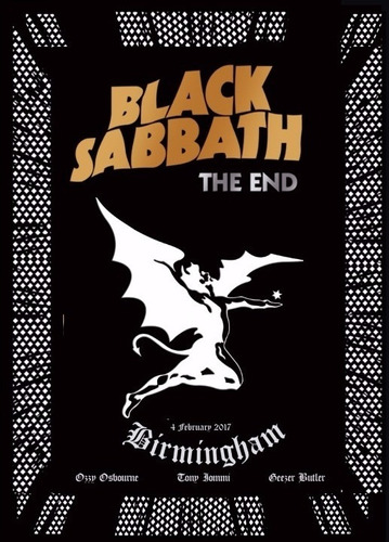 dvd black sabbath - the end (2017) lacrado