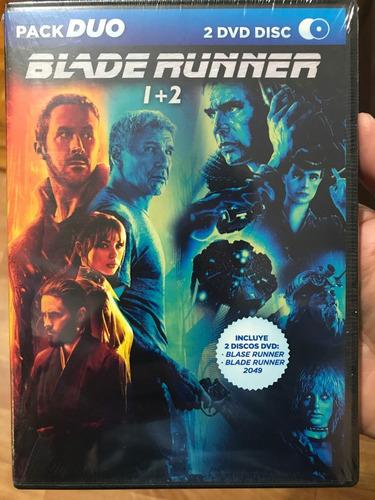 dvd blade runner + blade runner 2049 / incluye 2 films