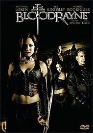 dvd - bloodrayne - kristanna loken / ben kingsley