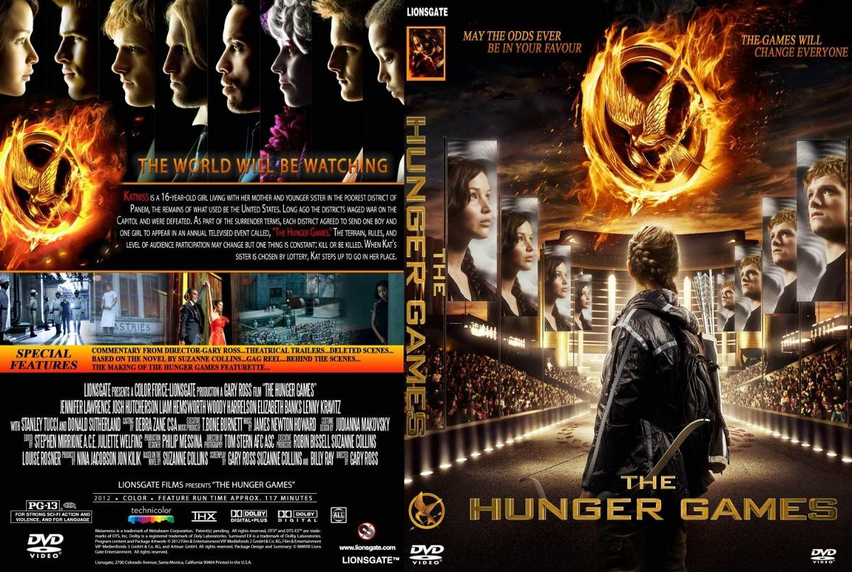 Dvd Blu Ray Combo Los Juegos Del Hambre The Hunger Games 1