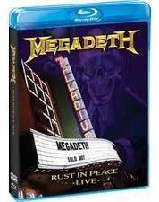 dvd blu ray megadeth rust in peace