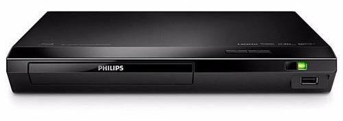 dvd blu-ray philips bdp2510b/55 com hdmi+usb envio imediato