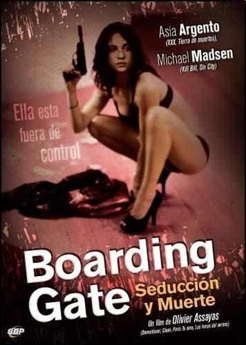 dvd boarding gate seduccion y muerte. olivier assayas