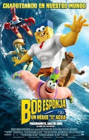 dvd: bob esponja un heroe fuera del agua la pelicula
