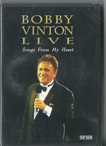 dvd bobby vinton live: songs from my heart