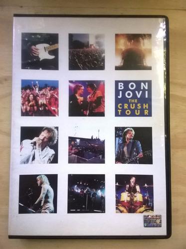 dvd  bon jovi -the crush tour -  $ 80- orig
